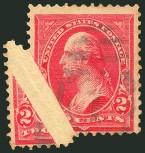 us-stamps-value-scott-279b-1897-2-cents-washington-siegel-977-466