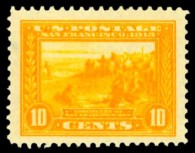 us-stamps-value-scott-400-1913-10-cents-panama-pacific-exposition-kelleher-672-2706